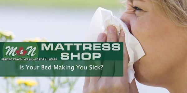 bed or mattress making you sick