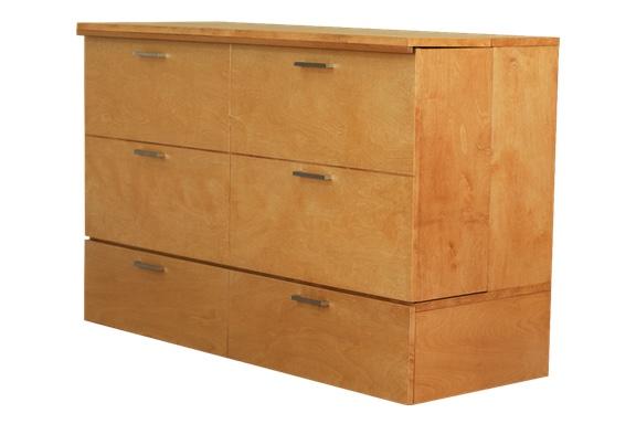 cabinet bed wood stain denva model