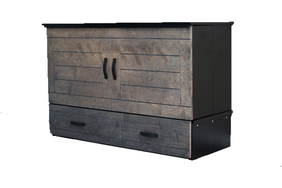Metro model cabinet bed wooden
