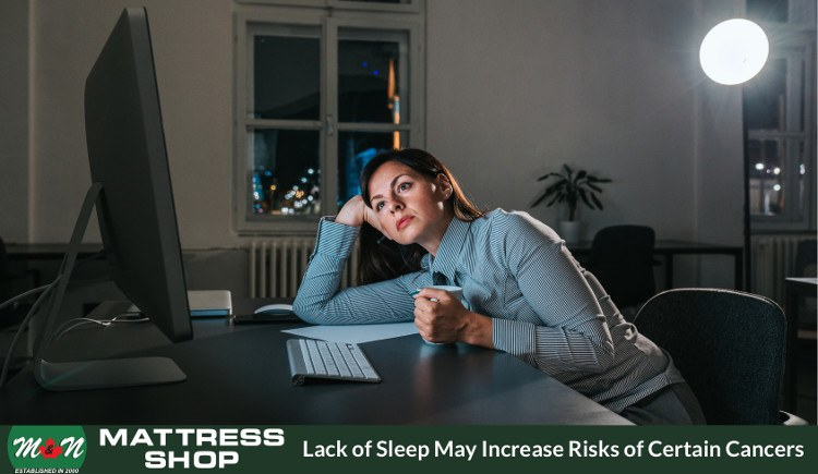 Sleep deprivation may increase cancer risks