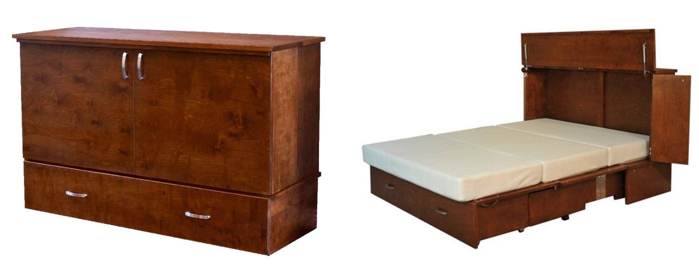 deluxe cabinet bed