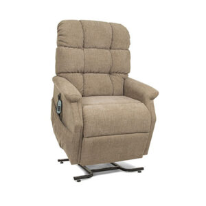 comfortable brown lift chairs are available in Parksville